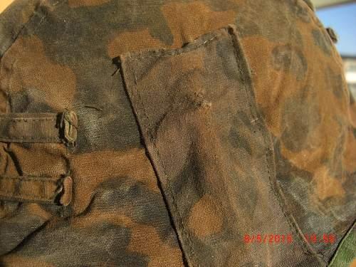 Authentic Waffen SS Oak leaf camouflage pattern?