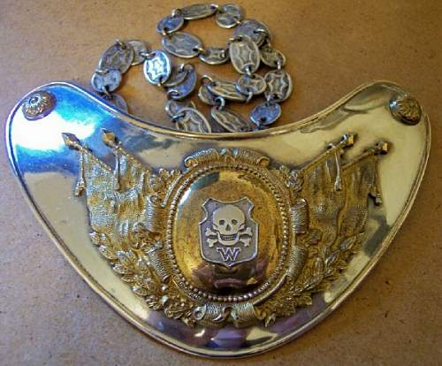 Click image for larger version.  Name:Wehrwolf Gorget 1.jpg Views:146 Size:113.8 KB ID:8473
