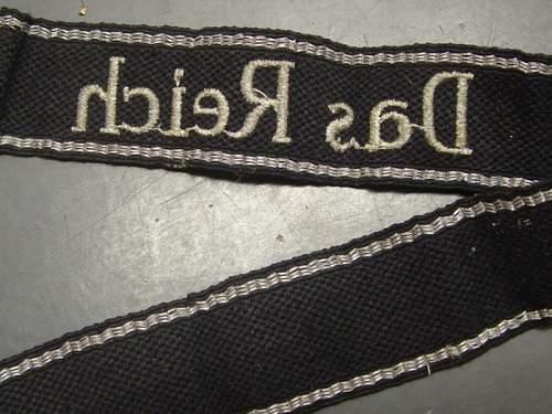 SS armband Das Reich