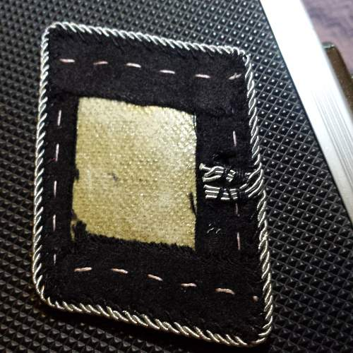 scored my first SS collar tabs, I'd love to hear your opinion!