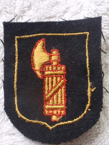SS Foreign Volunteer Insignia Italy