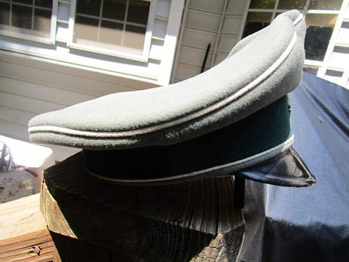 SS Visor with photos of owner