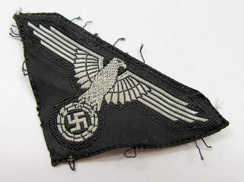 SS cloth cap eagle