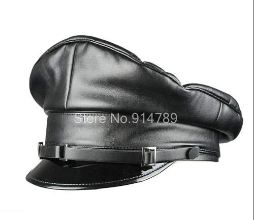 Leather SS cap for review.