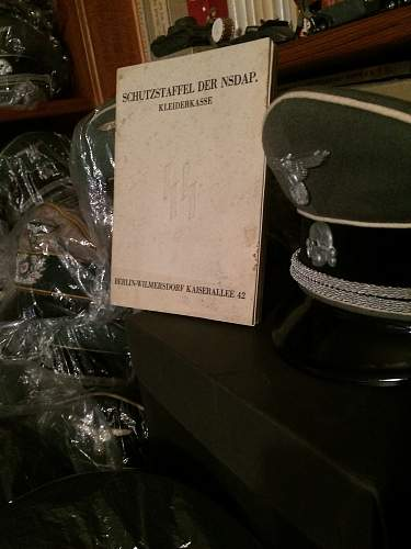 SS  Officer tab Wolfs Head ???