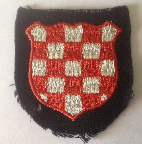Click image for larger version.  Name:Croatian Volunteers armshield front.jpg Views:44 Size:215.8 KB ID:859491