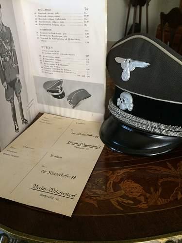 SS Kleidungsbestandsbuch