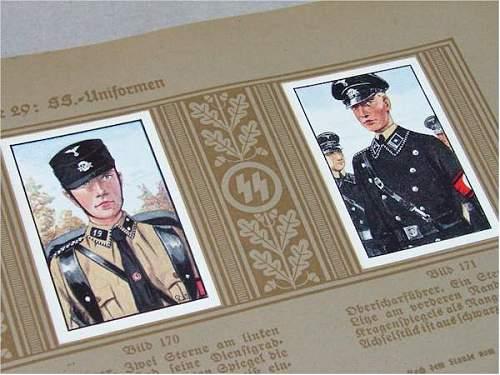 SS Kleiderkasse id card.