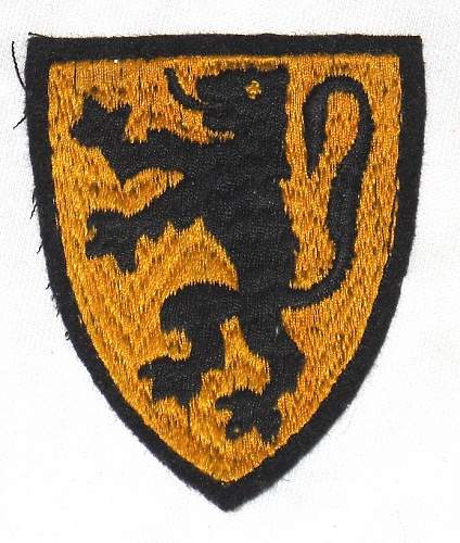 Flemish Legion Arm Shield