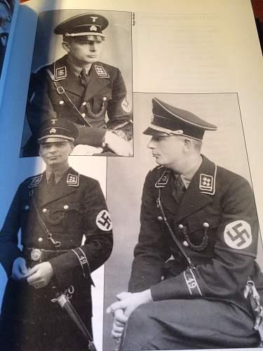 Black SS Uniforms - A better understanding.