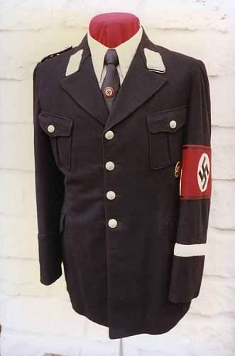 Allgemeine SS Uniform and hat