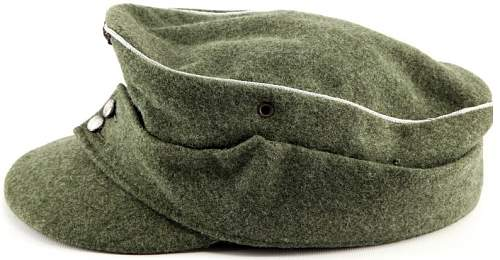 Click image for larger version.  Name:SS M43 Filed cap WW11 side.jpg Views:36 Size:127.5 KB ID:867264