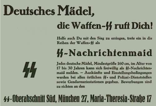 Click image for larger version.  Name:Reichsschule SS - zie verder HELFERIN - Uniforms.jpg Views:282 Size:44.4 KB ID:868057