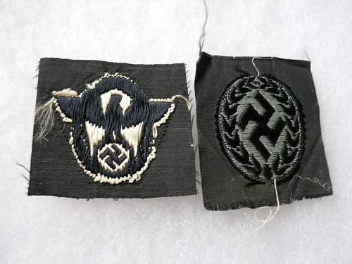 Schuma cap insignia for review