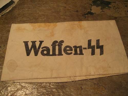 Waffen SS Armband????