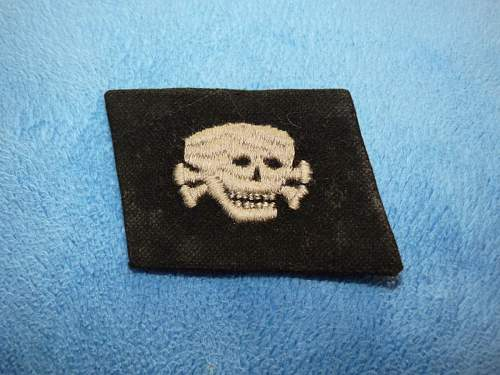 SS totenkopf insignia, is that a real set?