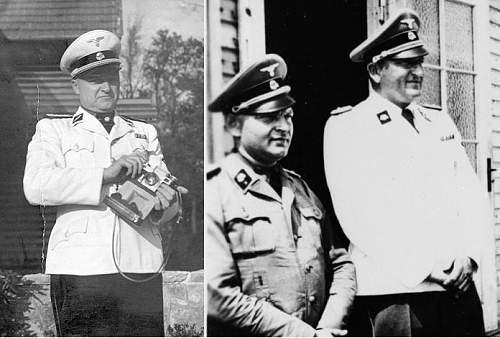 Waffen-SS Division Cufftitles on Black Uniforms?
