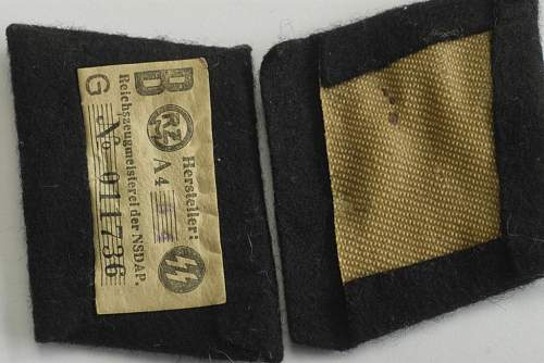 Set of SS Collar Tabs that I would like to check before purchase