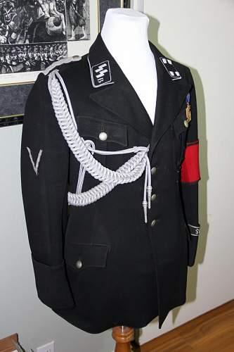SS Junkerschule Braunschweig Dienstrock, schwz.