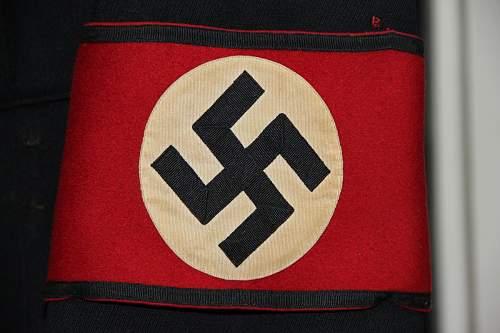 Kampfbinde Allgemeine SS - Stosstrupp Adolf Hitler Armband