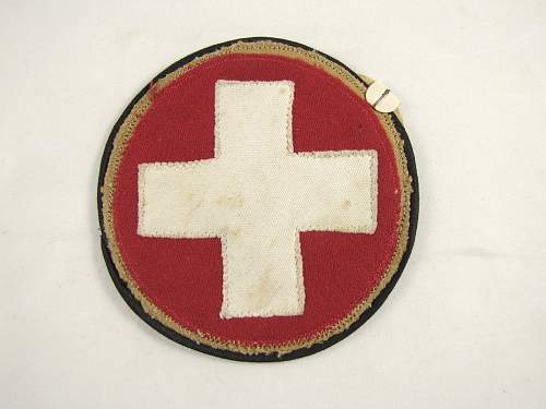 Very Rare SS-Sanitats Arm Patch
