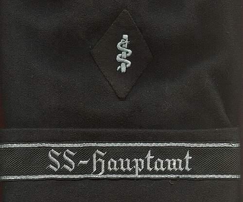 Very Rare SS-Sanitats Arm Patch