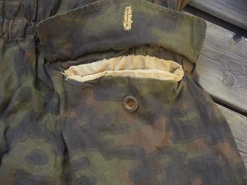 SS Blurred-edge reversible smock? Or trash?