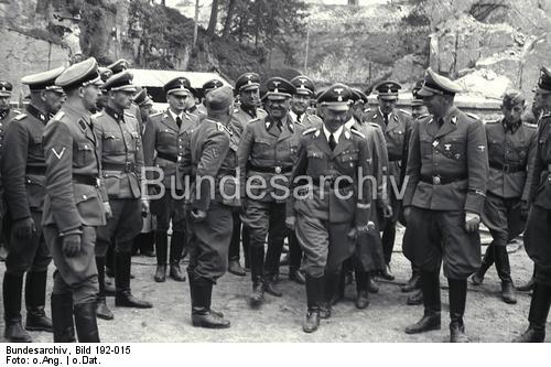 Himmler, Eigruber, Mauthausen