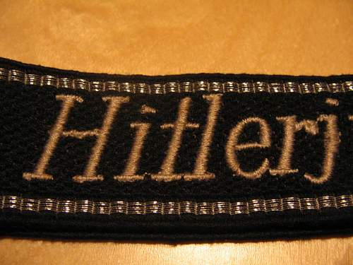 "Cufftitle ""Hitlerjugend"" Real?"