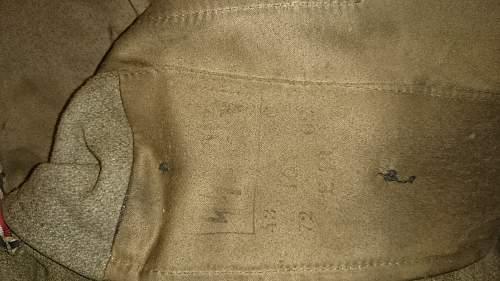 SS M43 Tunic Fake/Real