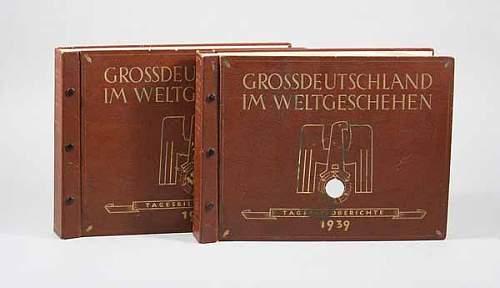 Braeckow,  Grossdeutschland im Weltgeschehen