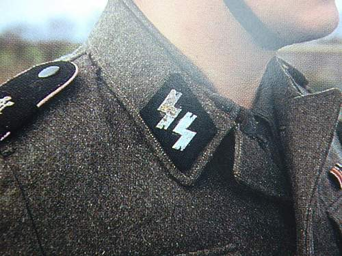 SS Collar Tabs, Opinions Please?