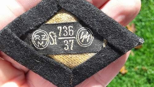 SS MARKSMAN SLEEVE DIAMOND with CLOTH TAG
