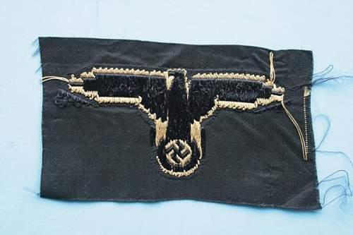 Tropical SS cloth Badge