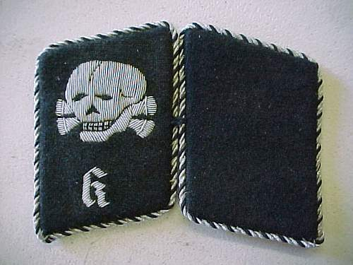 Click image for larger version.  Name:SS CONCENTRATION CAMP SKULL K COLLAR TABS TOTENKOP (1).jpg Views:382 Size:64.7 KB ID:89738