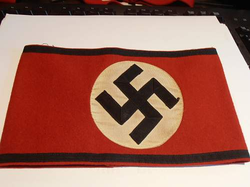 SS arm band