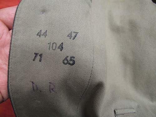 Waffen SS tunic, real or fake