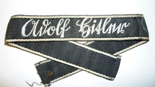 Adolf Hitler Cuff Title for review...