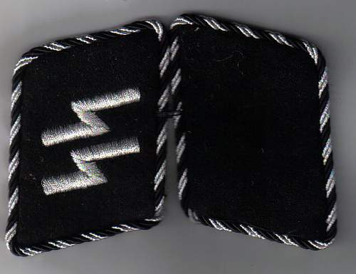 un-issued ss nco collar tabs real or repro please?