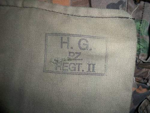 HG Panzer Division II Regiment / HG Reversible CamoSmock