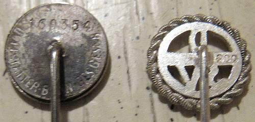 Need help with CASED SS Lapel Pin...