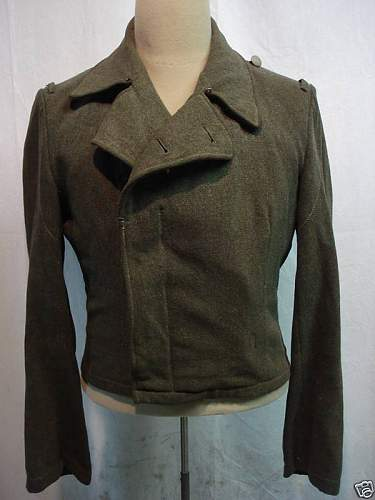 Possible Waffen  SS Panzer wrap/tunic info needed.