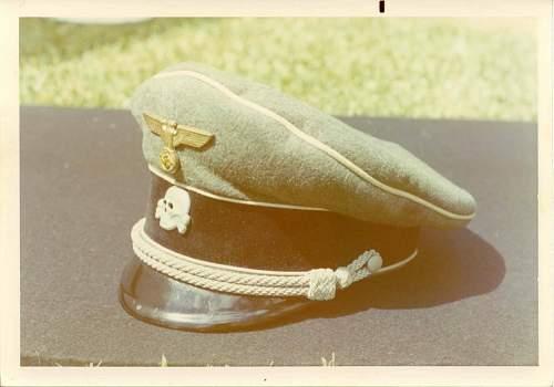 Sepp Dietrich's cap eagle...