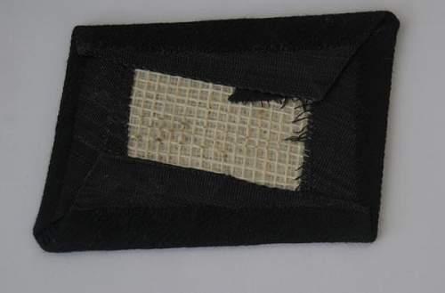 Waffen SS Collar Tab