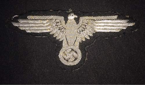 SS bullion eagle