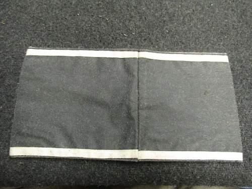 SS FM armband on Gunbroker