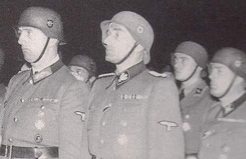 Karl-Hermann Frank's SS Helmet Sold