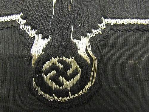 SS officers sleeve eagle.
