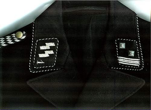 """Delich treasure, SSVT 1 """"D"""" Stabscharfuehrer"""