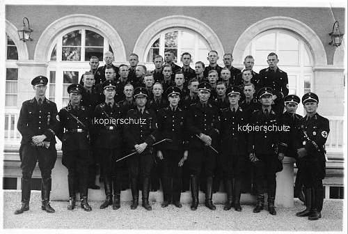 Black uniform